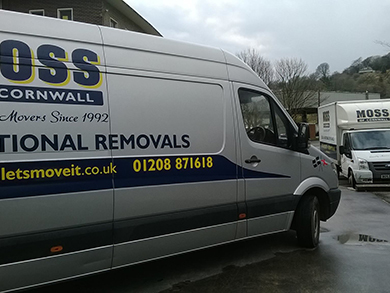 Local Cornwall Removals